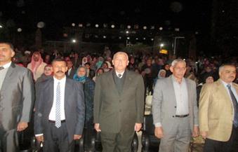 بالصور.. محافظ أسوان يفتتح مهرجان أسوان الدولي الخامس للثقافة والفنون