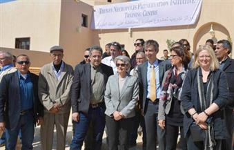 """بالصور.. مدير اليونسكو ووزير الأثار يفتتحان مقبرة """"نخت آمون"""" غرب الأقصر"""