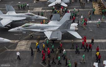 دوريات لمجموعة قتالية أمريكية في بحر الصين الجنوبي