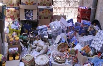 ضبط  نحو 10 أطنان سلع غذائية مجهولة داخل مصانع غير مرخصة بالإسكندرية