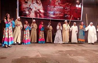 """بالصور.. 17 فرقة مصرية وأجنبية تواصل عروضها لليوم الثاني بمهرجان """"أسوان للثقافة والفنون"""""""