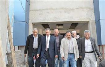 بالصور.. محافظ كفرالشيخ يتفقد أعمال إنشاء مستشفى برج البرلس الجديد بتكلفة 70 مليون جنيه