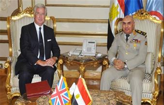 الفريق حجازى يلتقى وزير الدفاع البريطانى ورئيس هيئة الأركان خلال زيارته الرسمية لبريطانيا