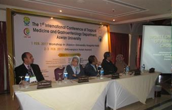 بالصور.. انعقاد المؤتمر الدولي الأول لقسم المناطق الحارة والجهاز الهضمي لطب أسوان