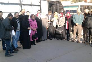 طب المنصورة تنظم قافلة لقرية حفير شهاب الدين ببلقاس