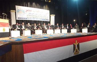"""افتتاح مؤتمر """"من أجل شباب مصر"""" للمشروعات الصغيرة والمتوسطة بالفيوم"""