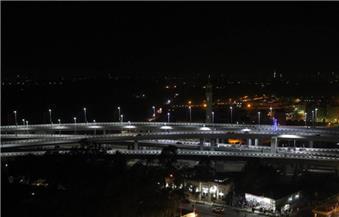 انطلاق الفوج الرابع من شباب الجامعات لزيارة كوبري سندوب بمحافظة الدقهلية