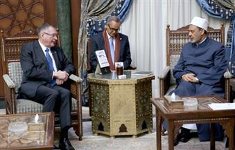 بالصور.. نائب رئيس البرلمان الألماني: الأزهر أهم مؤسسة دينية في العالم الإسلامي