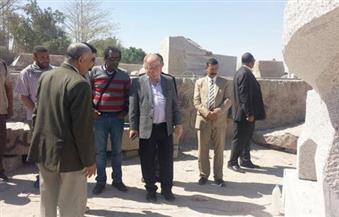 """خالد العناني يفتتح متحف الحفائر الأثرية """"الالينكس"""""""