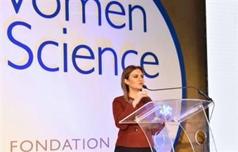 """سحر نصر تفتتح إطلاق البرنامج الإقليمي """"لوريال- يونسكو"""".. وتؤكد: فرص استثمارية للمرأة مساوية للرجل"""