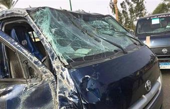 """""""صحة البحر الأحمر"""": خروج 17 شرطيًا مصابين فى حادث ميكروباص الغردقة من المستشفى"""