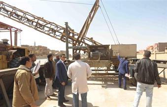 ارتفاع الكميات الموردة من القمح بكفر الشيخ إلى 126 ألف طن | صور