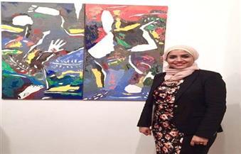 """الفنانة التشكيلية شيرين البارودي تشارك في مهرجان """"الألوان"""" بفرنسا"""