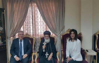 وزيرة الهجرة تلتقى أسقف إبراشية الخرطوم وأعضاء البعثة الدبلوماسية بالسودان