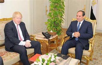 في أولى زياراته الرسمية للقاهرة.. وزير خارجية بريطانيا: نثمن وندعم جهود مصر لمواجهة وحصار الإرهاب