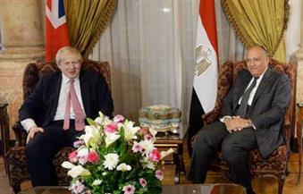 شكري ونظيره البريطاني يبحثان التطورات الإقليمية والدولية وجهود مكافحة الإرهاب