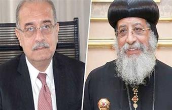 إسماعيل يتصل بالبابا تواضروس ليؤكد اهتمام الدولة بالأوضاع الجارية للمصريين المسيحيين بشمال سيناء