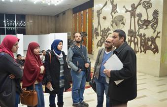 """بالصور.. ورشة """"الكتابة المتخصصة"""" تختتم فعالياتها بزيارة مؤسسة الأهرام"""