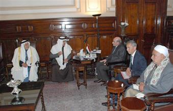 """""""البنا"""" يلتقي أعضاء لجنة الزراعة والري بمجلس النواب ووفدًا من أهالي سيناء"""