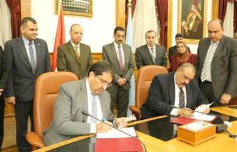 بالصور.. محافظ القاهرة  يشهد توقيع عقد خدمة التحصيل الإلكتروني لرسوم الخدمات الجماهيرية