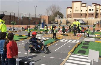 بالصور.. الإدارة العامة للمرور: إنشاء مدينة مرورية متنقلة للأطفال بمختلف المدارس