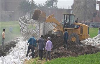 الهجان: إزالة 1267 حالة تعدٍ على الأراضي الزراعية بمراكز قنا خلال شهر مايو