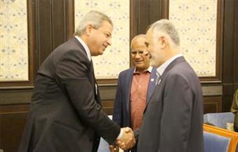 """عبدالعزيز يبحث ترتيبات مؤتمر """"الوزراء العرب"""" مع وزير الشباب اللبناني"""