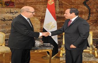بالصور.. تفاصيل لقاء الرئيس السيسي ووزير الدفاع الفرنسي