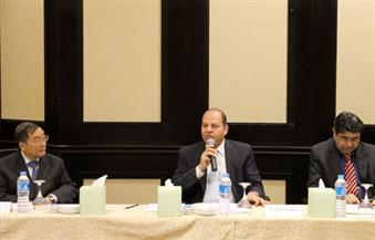 السنوطي يتحدث عن قضية سد النهضة وعلاقات مصر مع الدول الإفريقية أمام سفراء الدول الآسيوية المعتمدين بالقاهرة