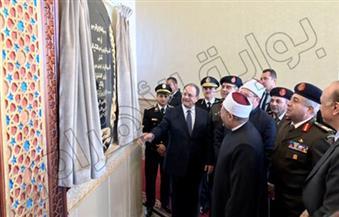 بالصور.. وزير الداخلية يفتتح مسجد الرحمن بمناسبة احتفال الوزارة بعيد الشرطة