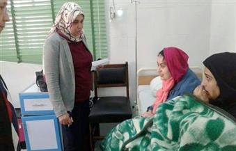 بالصور.. 22 مصابًا في حادث رأس غارب يُغادرون المستشفيات وبقاء 20 آخرين وتحويل حالتين إلى القاهرة لخطورتهما