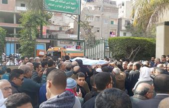 بالصور-أهالي-الإسكندرية-يشيعون-جنازة-شقيقتين-في-حادث-نوبيع
