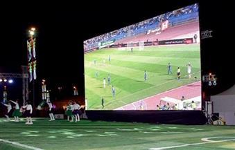 محافظ بورسعيد يوجه بوضع 3 شاشات عرض بالحدائق العامة في بورسعيد لعرض مباراة المصري