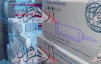 بالصور.. أكبر ضبطية دوائية.. مخزن غير مرخص بمدينة نصر يحتوى أدوية مهربة تقدر بـ32 مليون جنيه