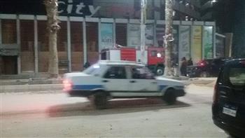 السيطرة على حريق داخل مول تجاري في بني سويف