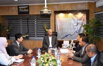 بالصور.. محافظ أسوان يلتقي رئيس شركة صينية للصناعات المعدنية لبحث أوجه التعاون المشترك
