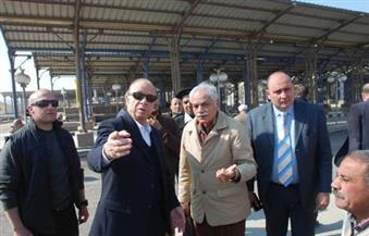 محافظ القاهرة يتفقد موقف السلام الجديد للاطمئنان على استعدادات العيد
