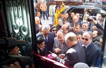 بالصور.. وزير الثقافة يفتتح قصر ثقافة مصطفى كامل بالإسكندرية