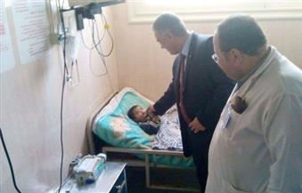 """بالصور.. وكيل """"صحة الإسكندرية"""" يتفقد تطوير العناية المركزة والحضانات بمستشفى فوزى معاذ"""