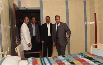 بالصور.. محافظ الإسكندرية يفتتح العناية المركزة بمستشفى العامرية بعد تطويرها