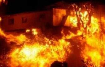 اشتعال النيران فى 20 فدانًا من القصب أثناء مطاردة مجرمين بسوهاج
