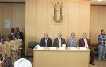بالصور.. مركز نصر النوبة يكرم مدير أمن أسوان وقيادات الشرطة