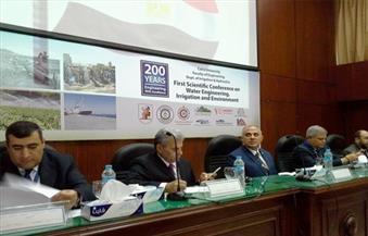 """بالصور.. دور السد العالي وأزمات السيول أمام وزير الري في فعاليات """"200 عام هندسة"""""""