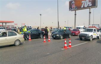 """""""المرور"""": إغلاق الطريق الدائري جزئيا لمدة شهر من المريوطية حتى الواحات"""