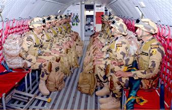 """بالصور.. مصر تشارك في التدريبات الجوية البحرية """"زايد 2"""" و""""حمد 2"""" لدعم أمن المنطقة"""