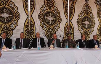مدير أمن الشرقية يعقد ندوة بحضور 1500 ضابط وعمداء القرى لتوعيتهم بالظروف الأمنية