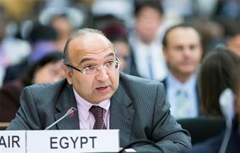 مندوب مصر في جنيف: إجراءات مقاطعة قطر ردًا على دعمها الإرهاب ووقوع شهداء مصريين