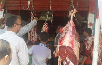 توقيع غرامة فورية على ٦ محلات جزارة بالإسكندرية