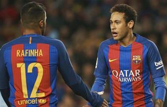 """برشلونة يُعلن جاهزية """"نيمار ورافينيا"""" لمواجهة فالنسيا.. الأحد المقبل"""