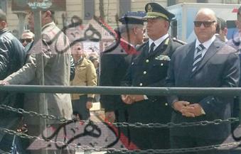 """بالصور.. """"أمن القاهرة"""" يواصل الحملات المرورية.. ومساعد الوزير يتفقد ميدان رمسيس وغمرة والطريق الدائري"""